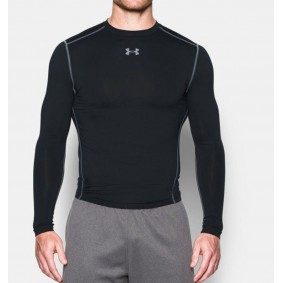 Sous-vêtements thermiques - Vêtements de Hockey - kopen - Under Armour ColdGear Armour Compression Crew – noir