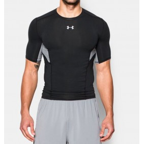 Sous-vêtements thermiques - Vêtements de Hockey - kopen - Under Armour HeatGear CoolSblancch Compression – noir