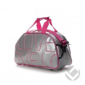 Sacs de Hockey - Sacs en bandoulières - kopen - Brabo sac en bandoulière Love argent | 25% DISCOUNT DEALS
