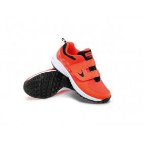 Chaussures de Hockey - Chaussures Dita - Chaussures pour jeunes - kopen - Dita Oberon Fix and Go Fluo rouge / noir jeunes chaussures de hockey