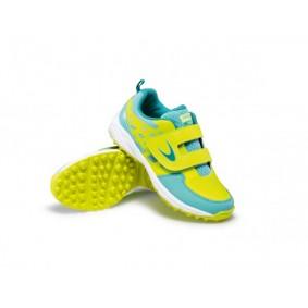 Chaussures de Hockey - Chaussures Dita - Chaussures pour jeunes - kopen - Dita Oberon Fix and Go Fluo jaunes / menthe jeunes chaussures de hockey