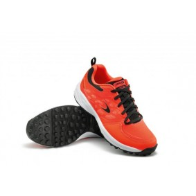 Chaussures de Hockey - Chaussures Dita - Chaussures pour jeunes - kopen - Dita LGHT 100 Fluo rouge / noir jeunes chaussures de hockey