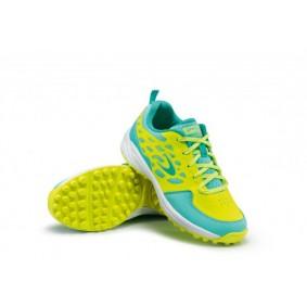 Chaussures de Hockey - Chaussures Dita - Chaussures pour jeunes - kopen - Dita LGHT 100 Fluo jaunes / menthe jeunes chaussures de hockey