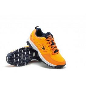 Chaussures de Hockey - Chaussures Dita - Chaussures pour jeunes - kopen - Dita STBL 100 Orange / marine jeunes chaussures de hockey