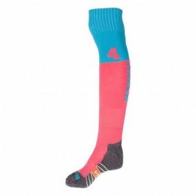 Chaussettes de Hockey - Vêtements de Hockey - kopen - Reece Numbaa chaussettes rose/clairbleu