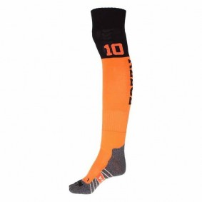 Chaussettes de Hockey - Vêtements de Hockey - kopen - Reece Numbaa chaussettes orange/noir