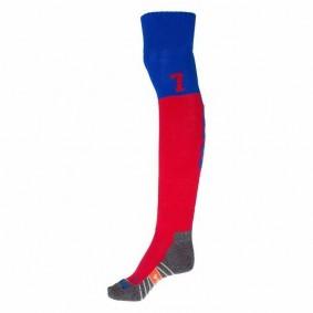 Chaussettes de Hockey - Vêtements de Hockey - kopen - Reece Numbaa chaussettes Royalbleu/rouge