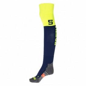 Chaussettes de Hockey - Vêtements de Hockey - kopen - Reece Numbaa chaussettes marine/jaunes