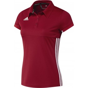T-shirts de Hockey - Vêtements de Hockey - kopen - Adidas T16 Team Polo femme rouge