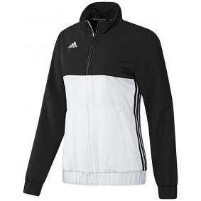 Vestes de survêtement - Vêtements de Hockey - kopen - Adidas T16 Team veste survêtement femme noir