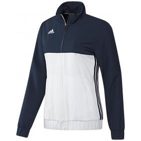 Vestes de survêtement - Vêtements de Hockey - kopen - Adidas T16 Team veste survêtement femme marine