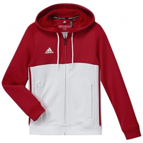 Maillots de Hockey - Vêtements de Hockey - kopen - Adidas T16 sweater à capuche jeune rouge