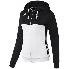 Maillots de Hockey - Vêtements de Hockey - kopen - Adidas T16 sweater à capuche femme noir