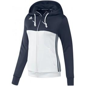 Maillots de Hockey - Vêtements de Hockey - kopen - Adidas T16 sweater à capuche femme marine