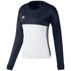 Maillots de Hockey - Vêtements de Hockey - kopen - Adidas T16 Crew sweater femme marine