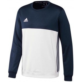 Maillots de Hockey - Vêtements de Hockey - kopen - Adidas T16 Crew sweater homme marine