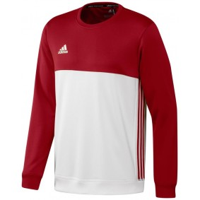 Maillots de Hockey - Vêtements de Hockey - kopen - Adidas T16 Crew sweater homme rouge