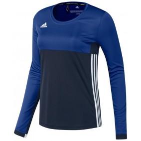 T-shirts de Hockey - Vêtements de Hockey - kopen - Adidas T16 Climacool manches longues Tee femme marine