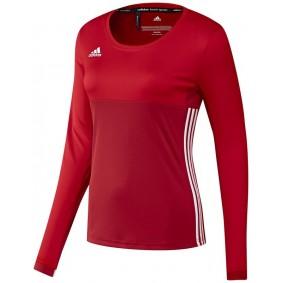 T-shirts de Hockey - Vêtements de Hockey - kopen - Adidas T16 Climacool manches longues Tee femme rouge
