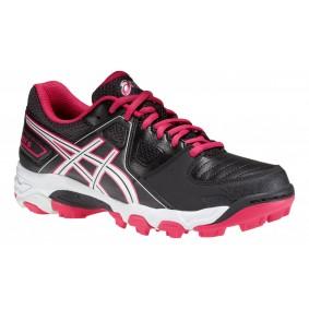 Chaussures Asics - Chaussures de Hockey - Chaussures pour jeunes - Promotions - kopen - Asics Gel-blackheath 5 GS jeunes noir/Rose (EN SOLDE)