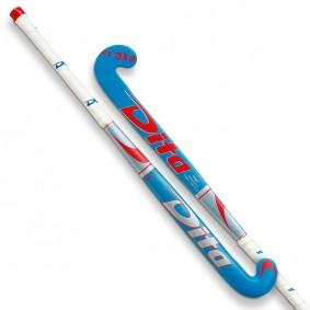 Crosses de hockey - Crosses pour de jeunes - Dita - kopen - Dita FX R10 jeunes bleuargent rouge