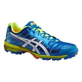 Chaussures Asics - Chaussures de Hockey - Promotions - kopen - Asics Gel-Hockey Neo 3 bleu/blanc/jaunes (EN SOLDE)