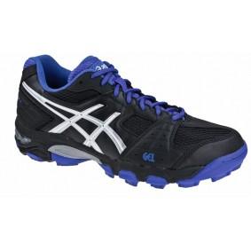Chaussures Asics - Chaussures de Hockey - Promotions - kopen - Asics blackheath GS noir violet (EN SOLDE)