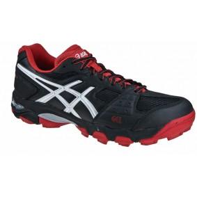 Chaussures Asics - Chaussures de Hockey - Chaussures pour jeunes - Promotions - kopen - Asics blackheath GS noir rouge