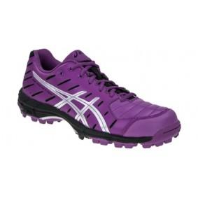 Chaussures Asics - Chaussures de Hockey - Promotions - kopen - Asics-Gel Hockey Neo femme violet/noir (EN SOLDE)
