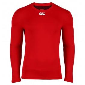 T-shirts de Hockey - Vêtements de Hockey - kopen - Canterbury froid manches longues Top homme rouge