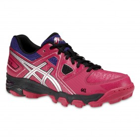 Chaussures Asics - Chaussures de Hockey - Promotions - kopen - Asics Gel-blackheath 5 Adulte femme rose/violet (EN SOLDE)