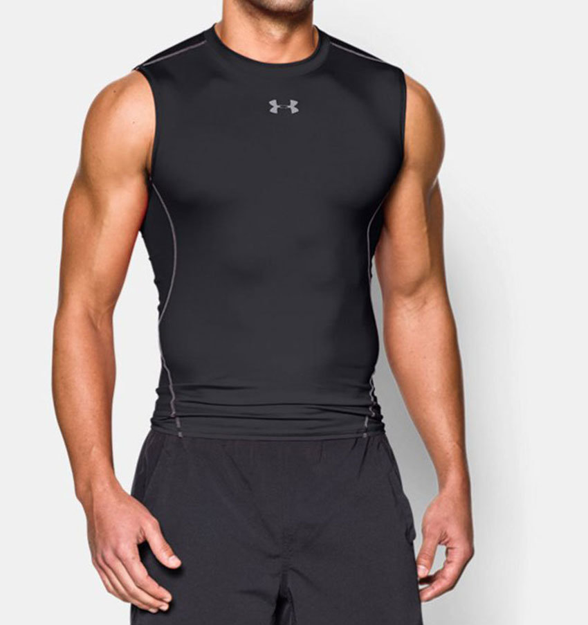 Under Armour HeatGear Armour Compression SL - noir. Normal price  29.95. Our  saleprice 20b51dcfd1a2