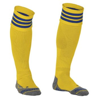 Stanno Ring chaussettes jaunes/bleu. Normal price: 9.95. Our saleprice: 7.95