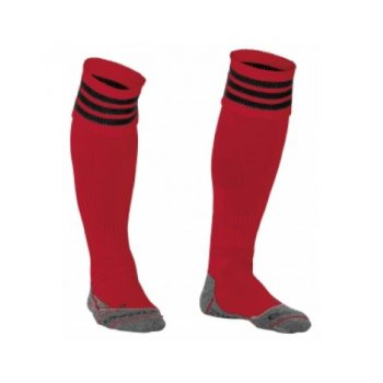 Stanno Ring chaussettes rouge/noir. Normal price: 9.95. Our saleprice: 7.95