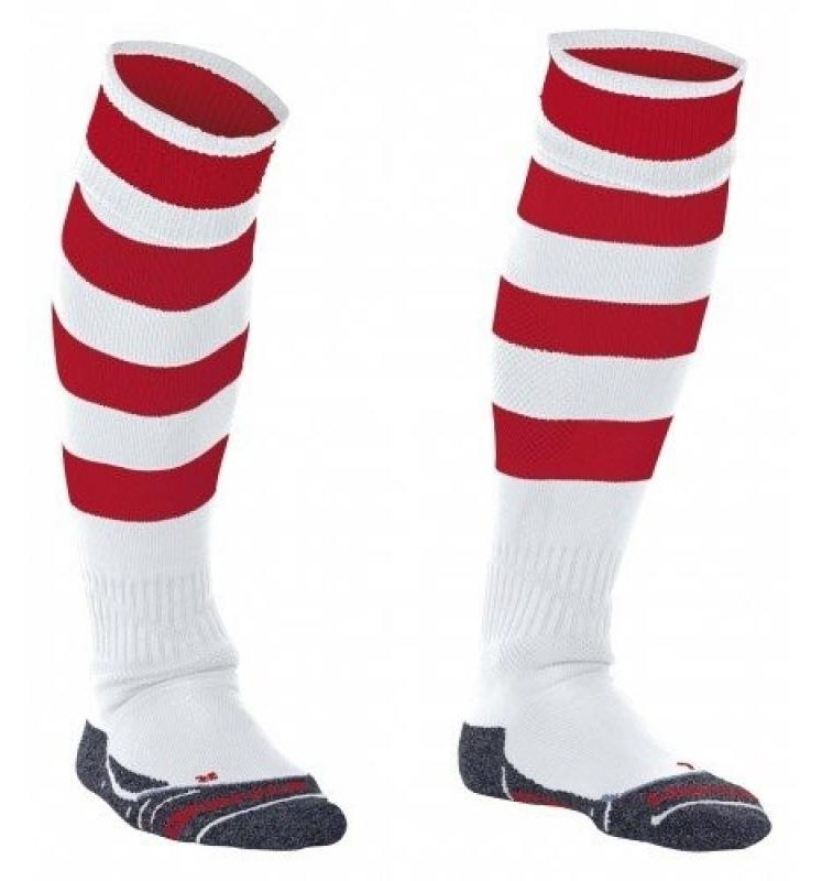 Stanno Original chaussettes blanc/rouge. Normal price: 9.95. Our saleprice: 7.95