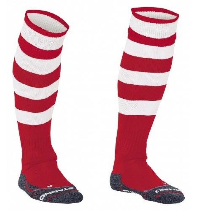 Stanno Original chaussettes rouge/blanc. Normal price: 9.95. Our saleprice: 8.25