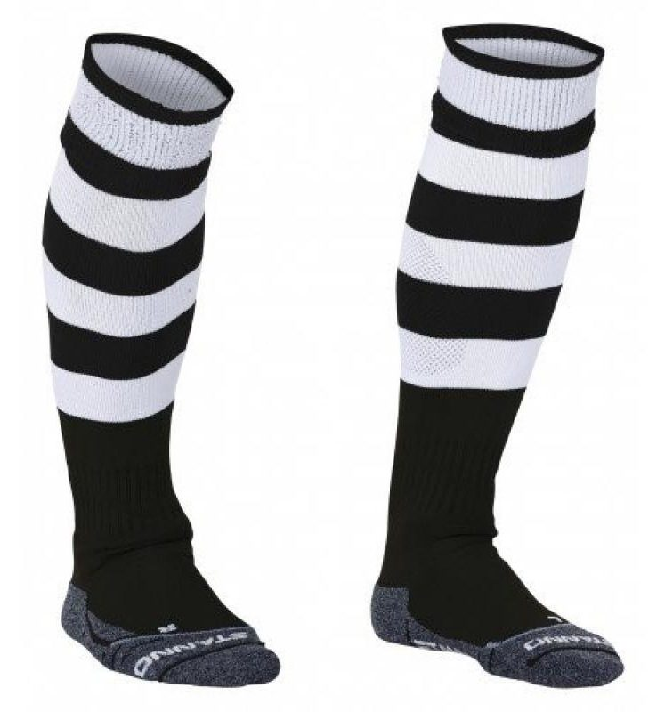 Stanno Original chaussettes noir/blanc. Normal price: 9.95. Our saleprice: 7.95