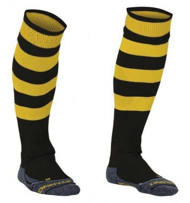 Stanno Original chaussettes noir/jaunes. Normal price: 9.95. Our saleprice: 7.95
