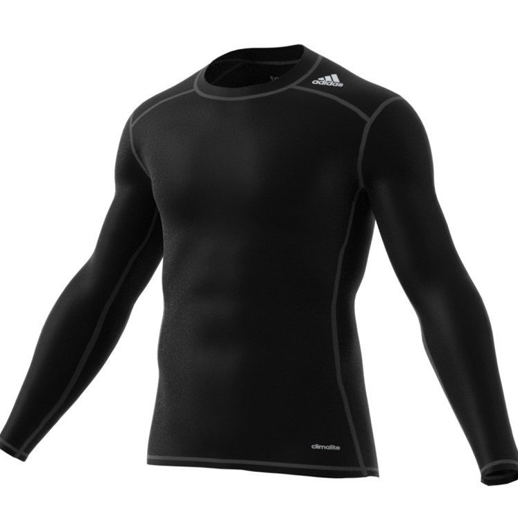 Adidas Tech Fit Base manches longues Tee hommes noir. Normal price: 32.95. Our saleprice: 28.95