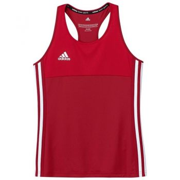 Adidas T16 Climacool sans manches Tee jeune filles rouge. Normal price   19.95. Our. Sale 0bf5bc124f9f