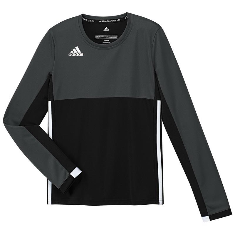 Adidas T16 Climacool manches longues Tee jeune filles noir. Normal price   24.95. Our 9eeb6ac923b1
