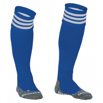 Stanno Ring chaussettes bleu/blanc. Normal price: 9.95. Our saleprice: 7.95