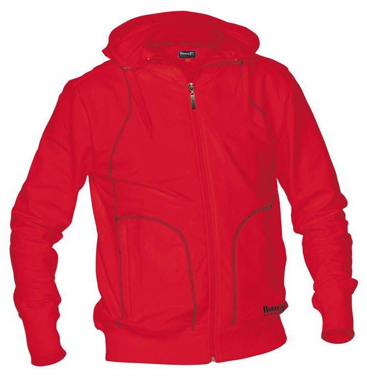 Reece encapuchonné sweater Pleine Fermeture unisexe rouge | DISCOUNT DEALS. Normal price: 44.95. Our saleprice: 22.50