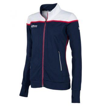 Reece Varsity Stretched Fit veste survêtement Pleine Fermeture femme marine. Normal price: 59.95. Our saleprice: 47.95