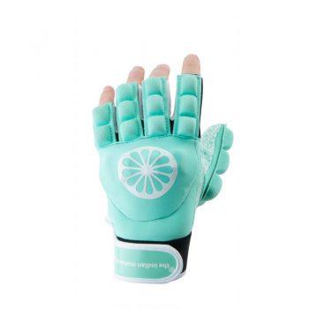 The Indian Maharadja gant shell/foam moitié doigt gant  menthe gauche. Normal price: 21.95. Our saleprice: 17.55