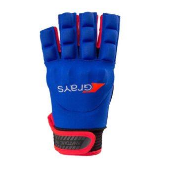 Grays Anatomic Pro gant Neon bleu/Neon rouge gauche. Normal price: 17.95. Our saleprice: 13.95