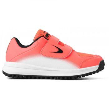d1387bfcc12d Dita LGHT Fix and Go jeunes Fluo-rouge blanc chaussures de hockey