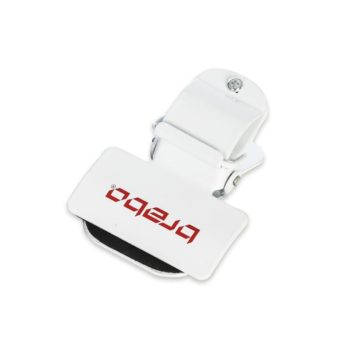 Brabo pince à crosse pour le velo blanc. Normal price: 12.95. Our saleprice: 9.95