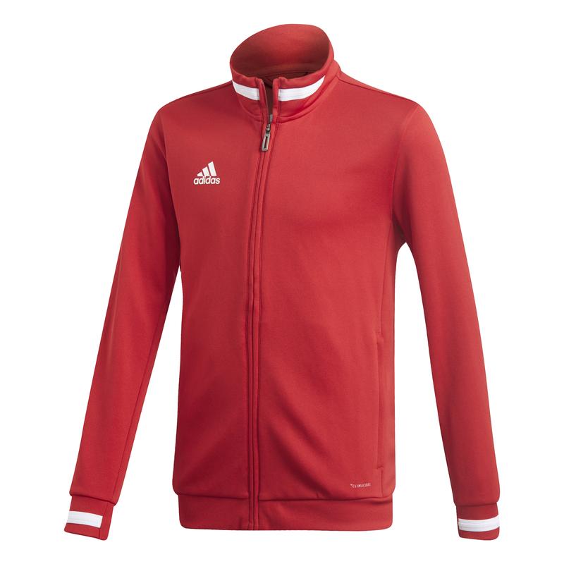 Adidas T19 Track veste survêtement Jeunes rouge
