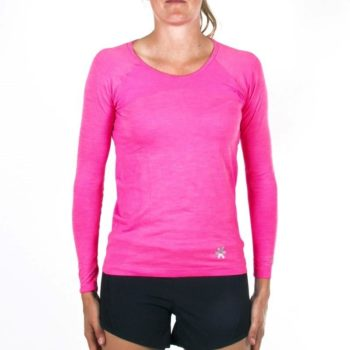 Osaka Tech Knit manches longues Tee femme - rose Melange | Discount Deals. Normal price: 59.95. Our saleprice: 29.95